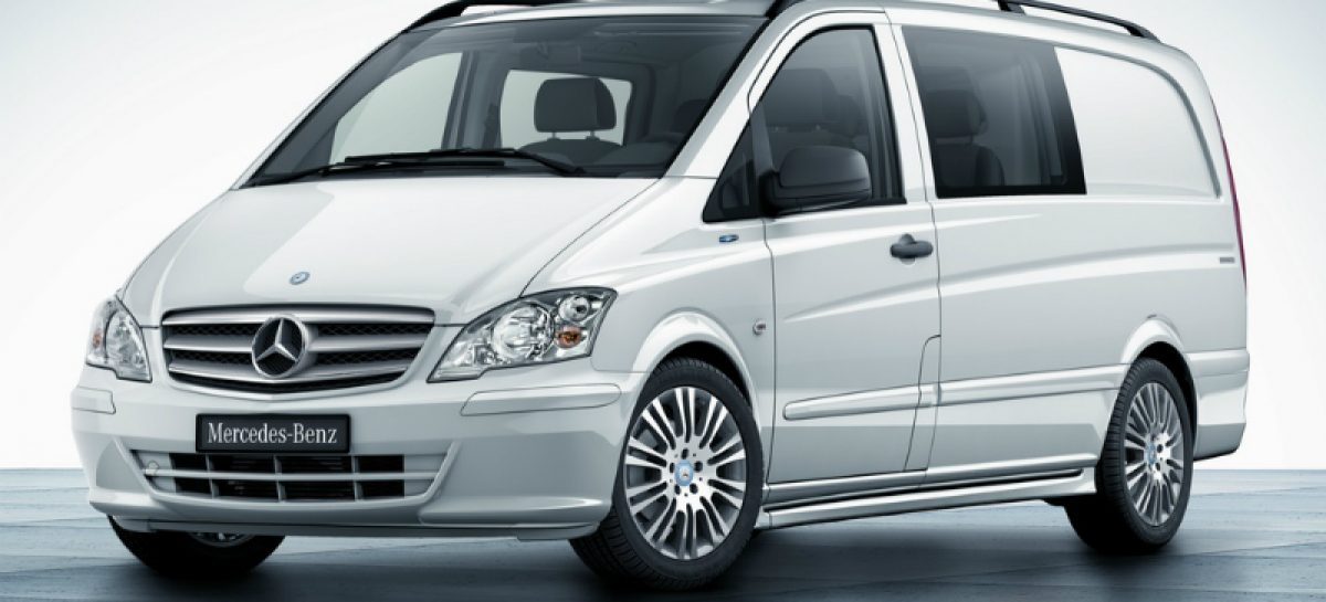 Украденные идеи от Mercedes в лице Vito и Viano