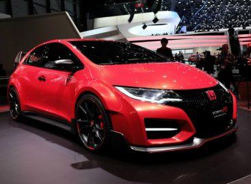 Новый коцепт-кар Honda Civic Type-R встречает своих фанатов