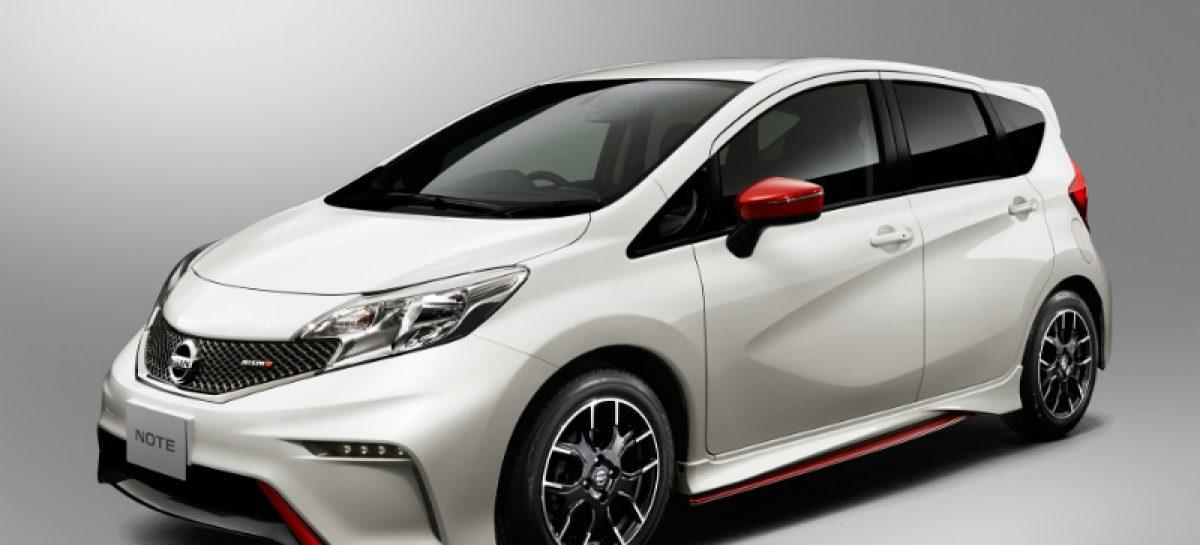 Новая спортивная версия Nissan Note Nismo поступит на европейские рынки