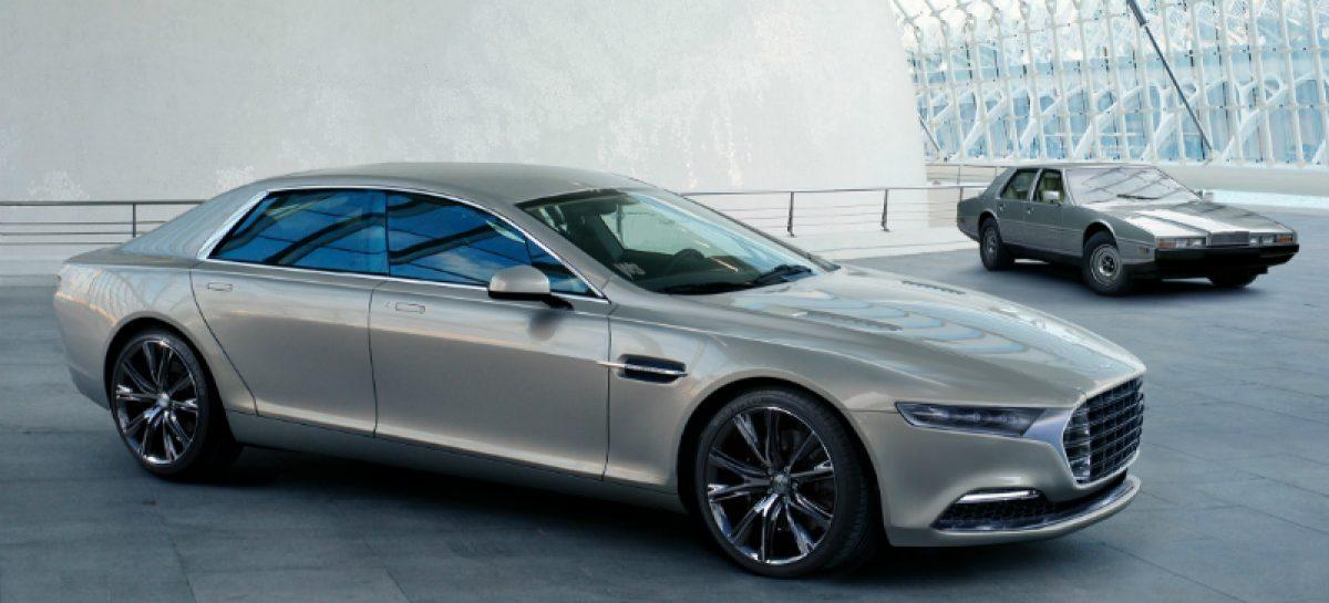 Aston Martin возрождает бренд Lagonda выпуском нового седана