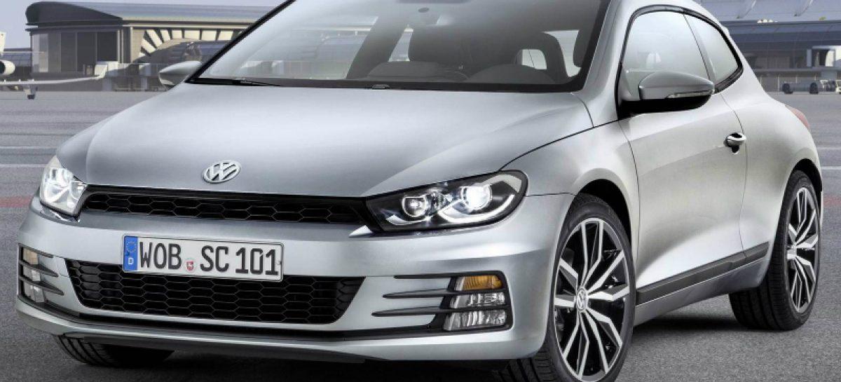 VW Group объявила о начале продаж обновленного Volkswagen Scirocco