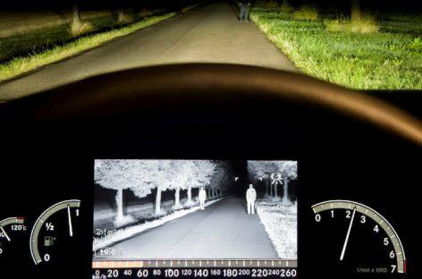 Первая серийная система ночного видения появилась на Mercedes S-class