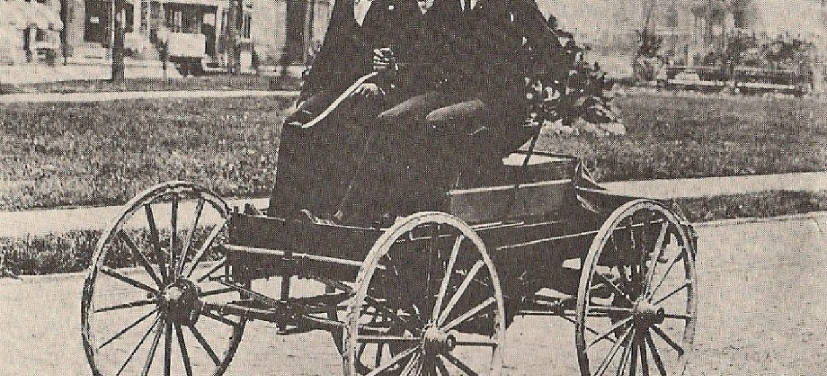 Первый угон автомобиля — 1896 год