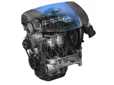 Поршневой двигатель Mazda SkyActiv