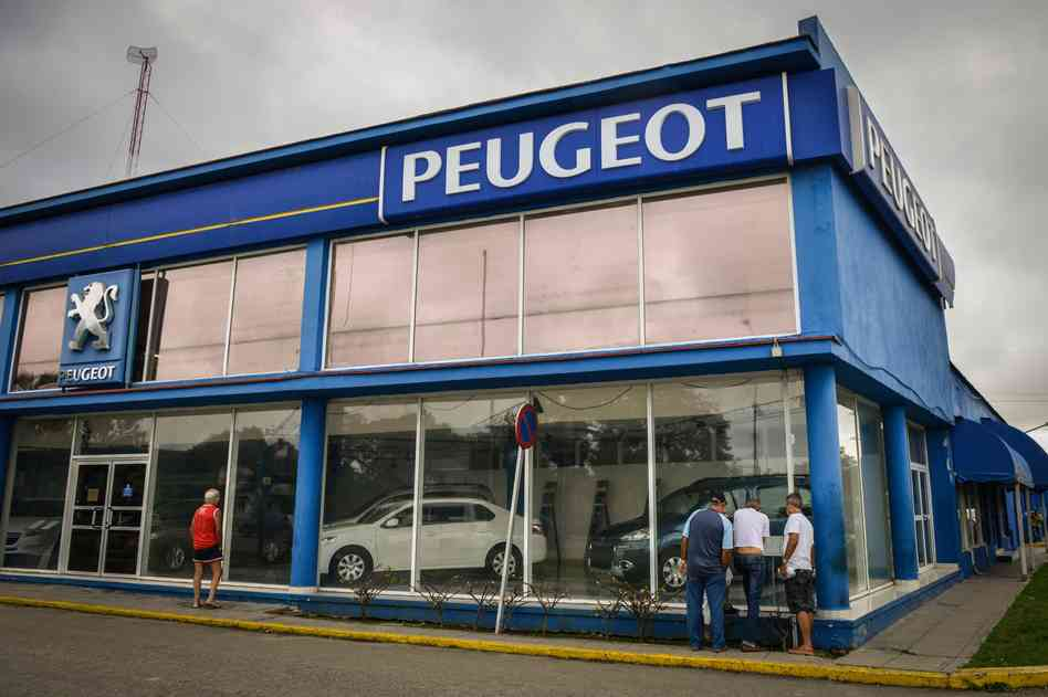 Продажа автомобилей на Кубе