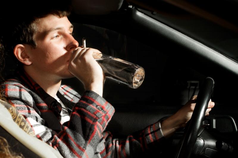 ГАИ будет отбирать автомобили у пьяных водителей