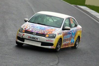 Раллийный автомобиль Volkswagen Polo Sedan