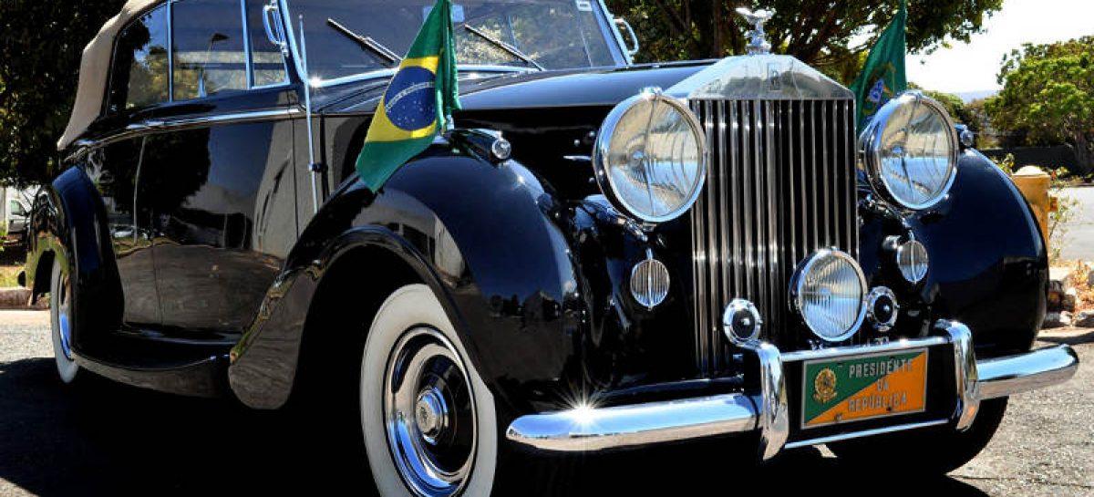 Автомобиль Президента Бразилии выбран со вкусом — престарелый Rolls-Royce