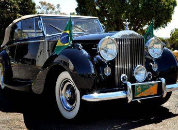 Автомобиль Президента Бразилии выбран со вкусом – престарелый Rolls-Royce