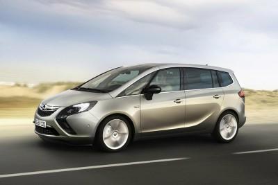 Семиместный Opel Zafira Tourer