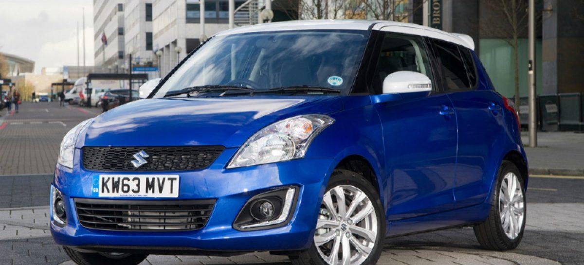 Возвращение Suzuki Swift SZ-L