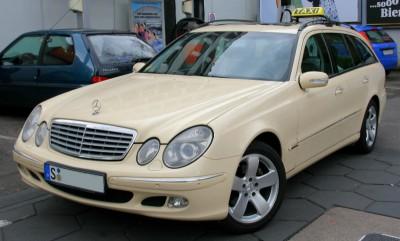 Такси Mercedes в Германии
