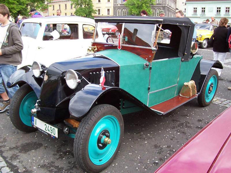 Tatra-11. Автомобиль 1924 года выпуска