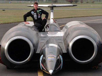 Thrust SSC and Andy Green