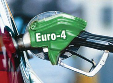 С 2015 года запретят продажу топлива ниже Евро-4
