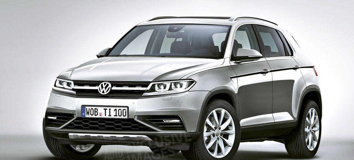 Volkswagen сосредотачивает усилия на кроссоверах: новый Volkswagen Tiguan