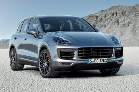 Porsche представляет обновленный Cayenne