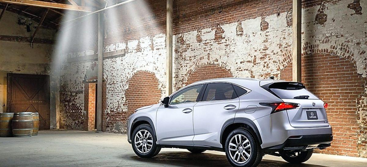 Lexus NX: Угол атаки
