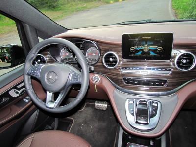 Центральная консоль Mercedes-Benz V250