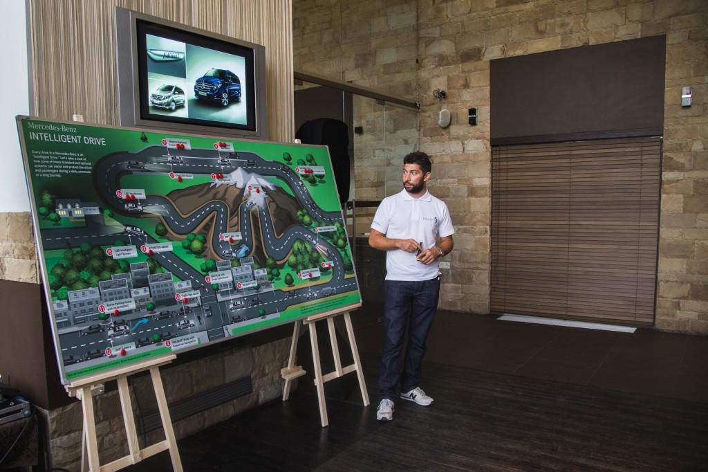 Система Mercedes Intelligent Drive