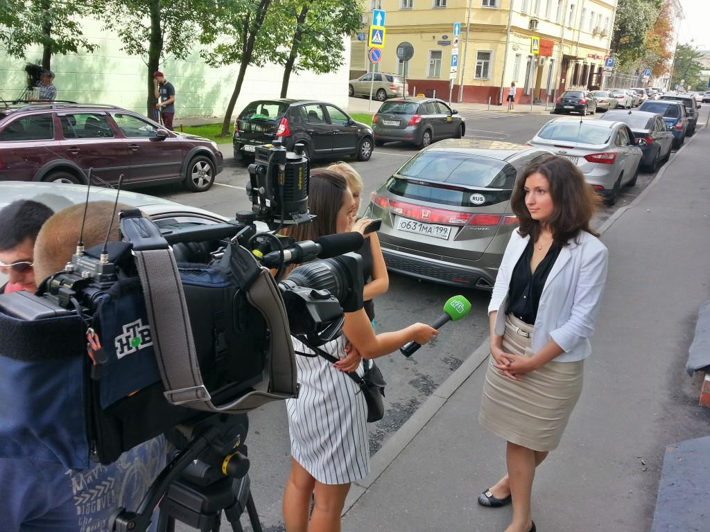 пресс-секретарь Московской административной дорожной инспекции Ольга Дыгало