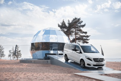 Презентация Mercedes-Benz V250