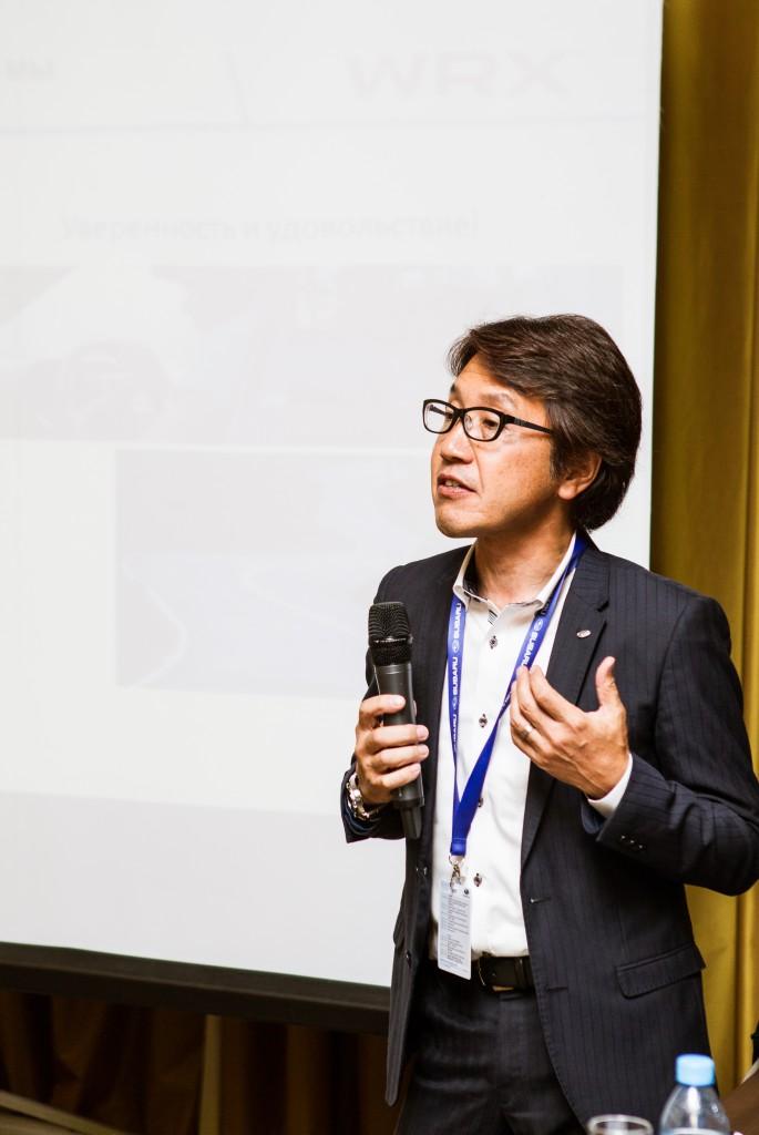 Масуо Такатсу – главный инженер WRX/WRXSTi
