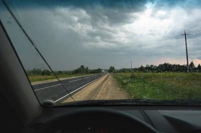 Гроза над Кировской областью