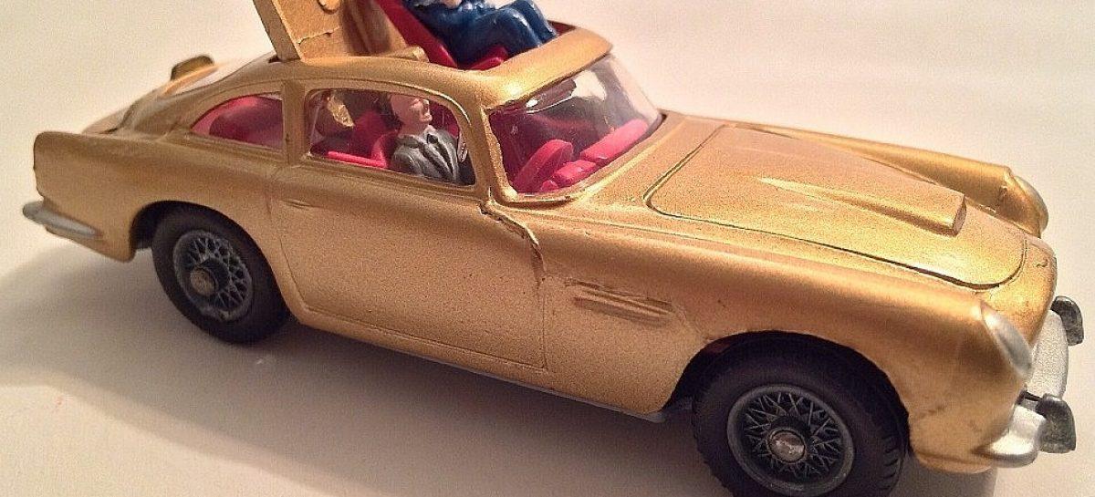 Aston-Martin DB5 – модель от Corgi Toys