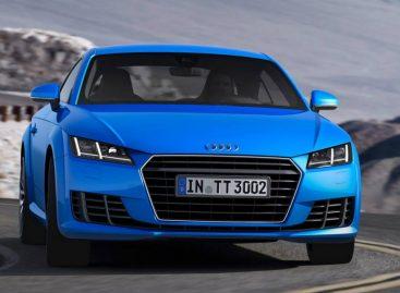 Audi TT третьего поколения выходит на европейские рынки