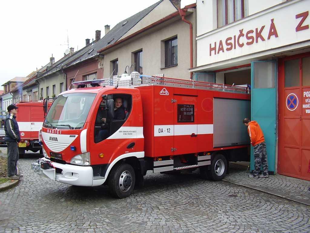 Avia DA12 пожарная машина