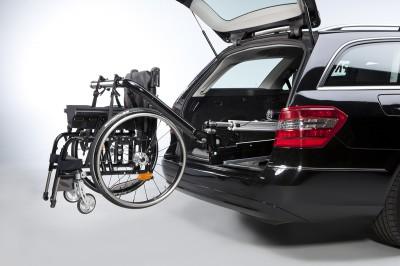 Автомобиль с оборудованием для инвалидного кресла Paravan