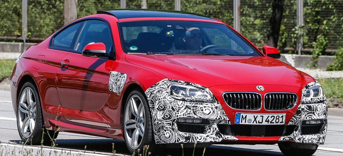 Обновленная BMW 6 series на подходе