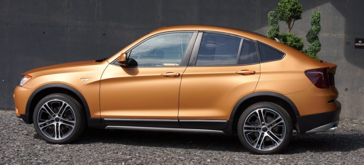 Концепт BMW Deep Orange 4: студенческая версия