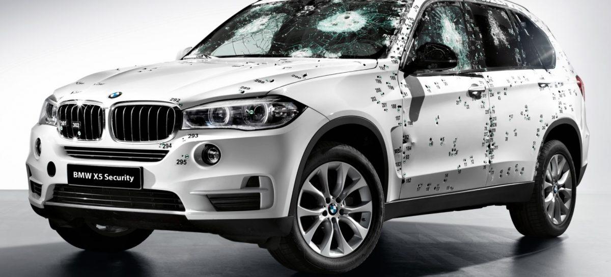 Новая бронированная BMW X5 Security Plus дебютирует на Московском автосалоне