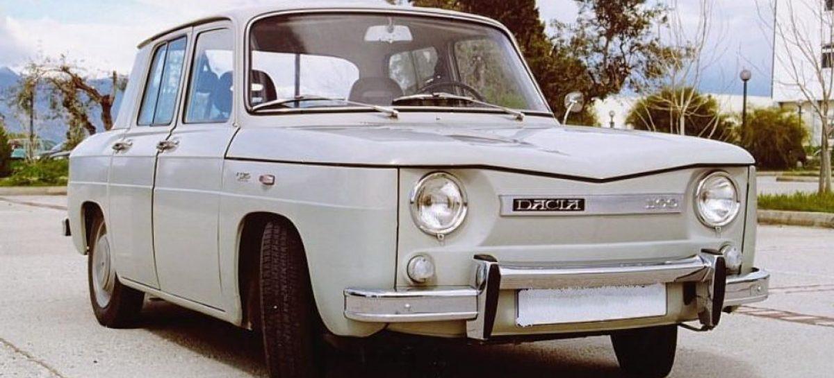 Первый автомобиль Dacia-1100