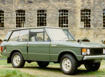 Первый Range Rover пойдет с молотка