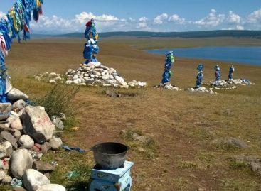 На берегу озера Хубсугул