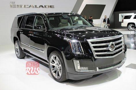 Cadillac Escalade — на 680 килограммов легче