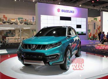 Новый SUV-концепт Suzuki iV-4 – индивидуальность