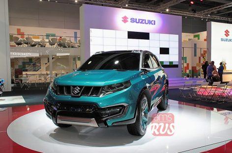 Новый SUV-концепт Suzuki iV-4 — индивидуальность