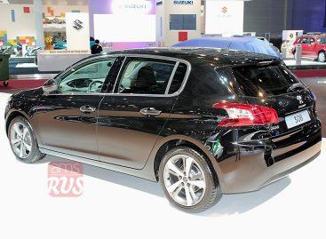 Peugeot 308 для российского рынка