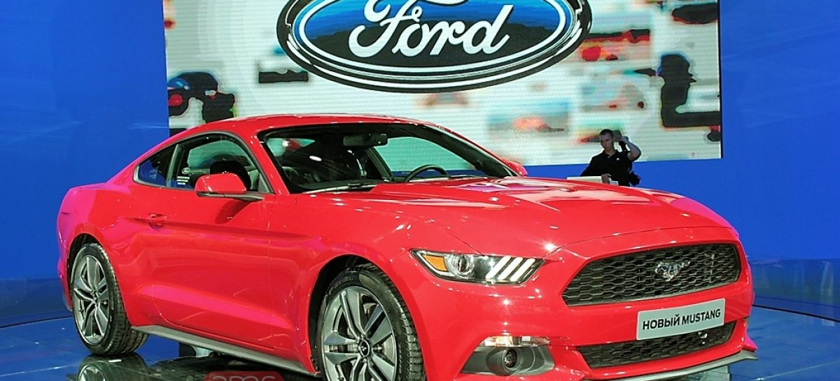 Ford Mustang в России