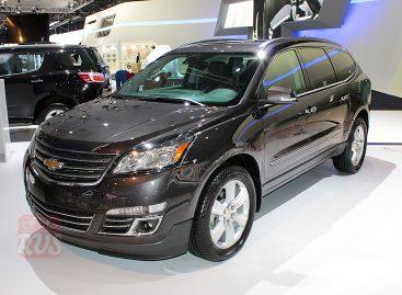 Chevrolet Traverse — новый кроссовер для России