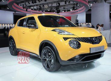 Nissan Juke стал ярче и быстрее