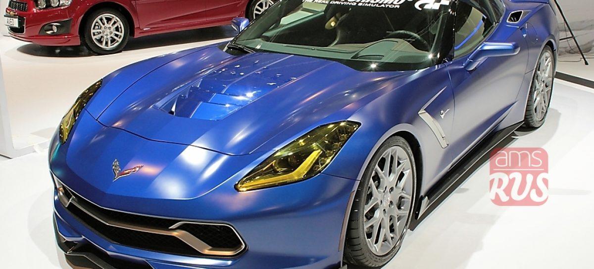 Спортивный Chevrolet Corvette Stingray