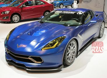 Спортивный Chevrolet Corvette Stingray