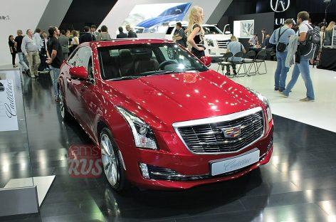 Cadillac ATS без лавровых венков