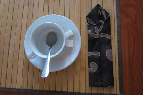 Галстук на завтрак