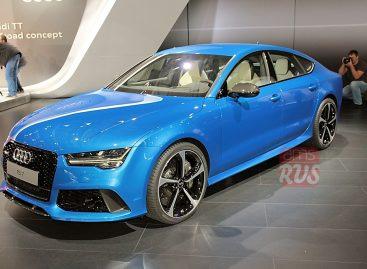 Audi RS7 Sportback – самый быстрый из хэтчбеков